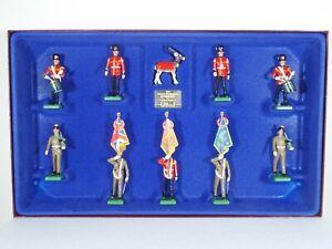 Britains Soldiers. Royal Regiment of Fusiliers. 10 Piece Set #5193. Ltd Edition.