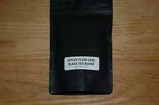 Spiced plum cake black tea blend  2 ounce bag