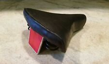 Vintage Mesinger Bike Seat Springer Comfort Cruiser Saddle w/ Large Reflector