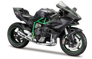 1:12 Kawasaki Ninja H2R by Maisto in Black 32708