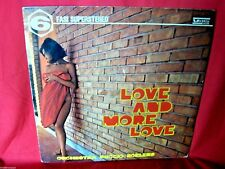 PUCCIO ROELENS More and more love PHASE 6 Library LP 1969 ITALY Sexy Nude Cover