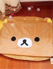 Hot Sale 63*43cm Rilakkuma Relax Bear San-X Cute Plush Brown Pillow Case kid toy