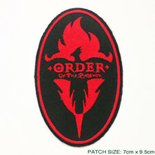 """HARRY POTTER """"THE ORDER OF THE PHOENIX"""" Member's Embroidered Patch!"""