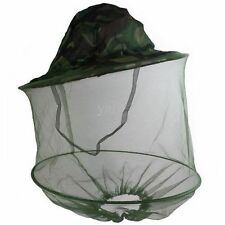 BRAND NEW MOSQUITO HAT MIDGE GNAT HEAD COVER NET FISHING SHOOTING RRP - £14.99