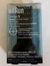 Braun Series 3 Beard Trimmer Head Replacement Foil Upgrade Your Shaver 5 Combs