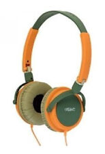 Urbanz Wild Light-weight DJ Style Headphones - GreenOrange