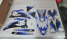 YAMAHA YZF250 YZF450 2006-2009 One Industries Checkers graphics kit 1G49
