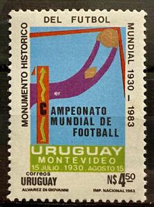 URUGUAY - FIRST WORLD SOCCER CHAMPIONSHIP  URUGUAY 1930  - MNH STAMP