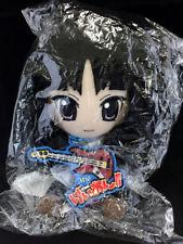 K-On!! Plush Doll Strap & Rubber Key Chain Gift TBS Limited Mio Akiyama