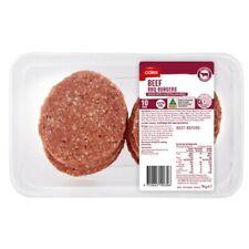 Coles Beef BBQ Burgers 10 pack 1kg