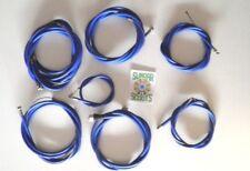 Complet Nylon Doublé Bleu Kit Câble pour Li Série 2 Lambretta Scooters