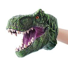 Dinosaur Hand Puppet For Stories Tyrannosaurus Head Hand Puppet Kid Figure Toy Q
