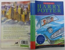 J.K. ROWLING Harry Potter and the Chamber of Secrets INSCRIBED FIRST U.K. ED