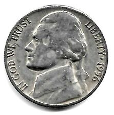 1956 D Jefferson Nickel, Finish Your Book With This Circulated Coin #5206