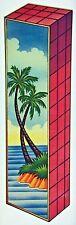 Original Palm Tree Fantasy Rubik's Cube Iron On Transfer
