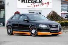 Frontlippe Rieger Tuning Audi A3 8P