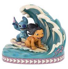 Disney Parks Lilo & Stitch Figure By Jim Shore Surf Hawaii New