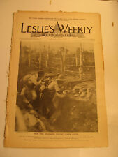 Leslie's Weekly, Aug.11,1898 Edition