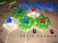 Terraforming Mars 3D printed cities, greenery & ocean tiles, plus 10 'specials'