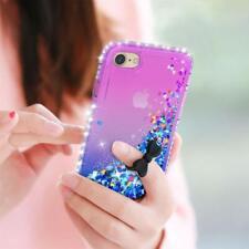 Lot 2 Coques LeYi iPhone 7et 8 Etui Verre Trempé Antichoc Liquide Paillette