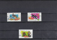FRANCE 2009 FETE DU TIMBRE LOONEY TUNES 3 TIMBRES OBLITERES YT 268 A 270