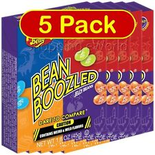 5 Pack BEAN BOOZLED 1.6oz Jelly Belly ~ Weird & Wild Flavors ~ Party Candy