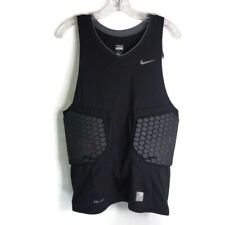 Nwt Nike Pro Combat 371054 Vis-Deflex Basketball Compression Padded Men's Top Xl