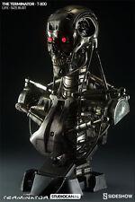 Terminator T-800 Life Size Bust by Sideshow Free UK EU Shipping - Flex Pay BNIB