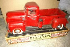 Diamond Of California Metal Classic Collection 2002 Red Truck Sherwood Brands