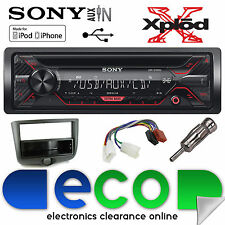 Toyota Yaris 03-06 Sony CDX-G1200U CD MP3 USB AUX IN Iphone AUTO RADIO STEREO KIT