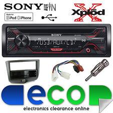 Toyota Yaris 03-06 Sony CDX-G1200U CD MP3 USB AUX IN Iphone AUTO RADIO STEREO KIT