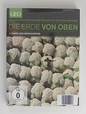 DVD Die Erde von oben Geo 2 Erde und Ressourcen Arthus Bertrand Neu