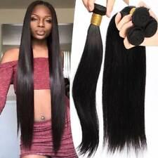4 Bundles Brazilian Indian Virgin Human Hair Extensions Weave Weft Straight 400g
