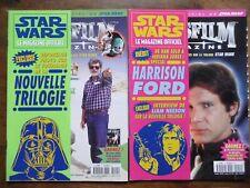 2 NUMEROS LUCASFILM STAR WARS FILMS SCIENCE FICTION 1997/1998 N° 11 ET N° 12