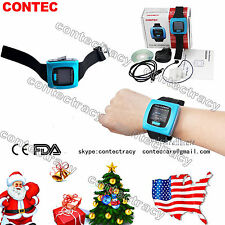 US Color wrist FingerTip Pulse Oximeter Blood Oxygen SpO2 PR Heart Rate Monitor