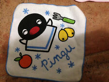 Pingu Pinga Towel Series~Pingu Orange Fork+Pingi Juice Cherry Spoon Towel x 2