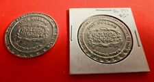 2 GOLDEN NUGGET HOTEL CASINO LAS VEGAS $1 GAMING TOKENS