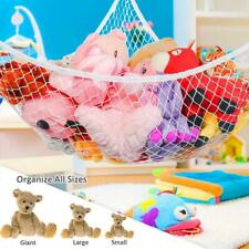 Hammock Corner Stuffed Animals Kids Baby Hanging Storage Organizer Mesh Net Toy