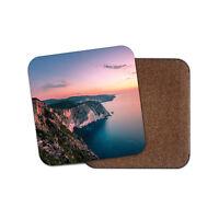 Zakynthos Island Sunset Coaster - Greek Greece Travel Holiday Cool Gift #13147