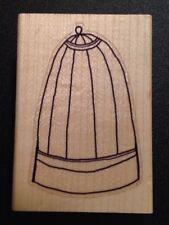Rubber Stamp Bird Cage