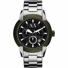 Reloj Cronógrafo AX1175 Nuevo Genuino Armani Exchange Para Hombre RRP £ 180