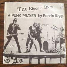 "Sex Pistols The Biggest Blow MEGA RARE GREEK 7"" +KILLER PS Punk The Clash Damned"
