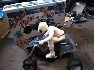 Vintage Kyosho Quad Rider ATV Nitro Powered 1/4 Scale RC motorcycle & Box