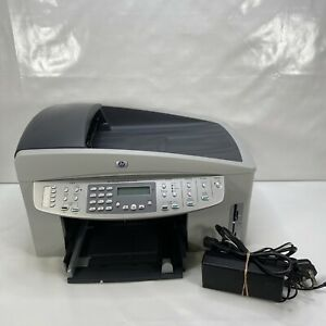 Hp Officejet 7210 Printer Fax Scan Copier Photo with Power Lead Read Below