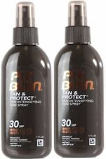 Piz Buin TAN INTENSIFIER LOTION SPRAY SPF30  (pack of 2) for Faster Tanning