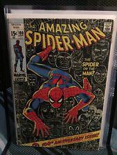 AMAZING SPIDER-MAN #100 (1971) VULTURE, LIZARD, GOBLIN, KINGPIN Reader Copy
