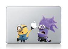 Despicable Me Minion Purple Minion Macbook Pro Retina Air 13 Sticker Decal Cute