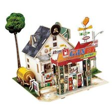 1:24 Scale Diy Dollhouse Miniature Wood Dolls House Kit Creative Room Model