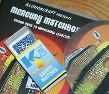 Mercury Matchbox (Blue Bicycle) -- signed card in box, the easy way         TMGS