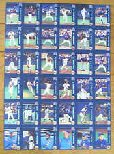 2000 Toronto Blue Jays Oh Henry Uncut Sheet, Halliday, Wells...(36)